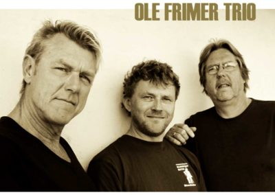 Fre. 16. august kl 22.00,Ole Frimer Trio